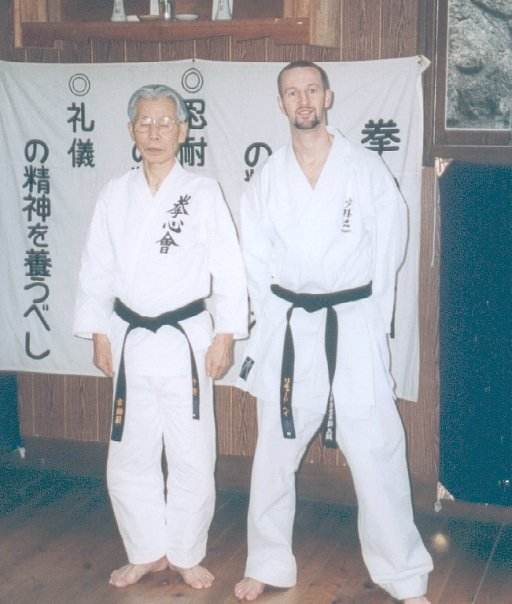 Richard Haye and Sensei Nakano